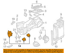 VW VOLKSWAGEN OEM 98-05 Passat 2.8L-V6 Evaporator Heater-Adjust Motor 8D1820511F