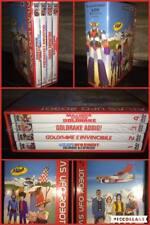 GOLDRAKE ATLAS UFO ROBOT Cofanetto 4 DVD SEALED SIGILLATO NUOVO RARO CARTONI