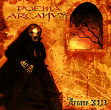 Poema Arcanus -  Arcane XIII CD + DVD w/ Slipcase Chile 90's Doom / Death