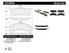 Disc Brake Pad Set fits 1968-1973 Mercury Cougar Comet Cyclone  C-TEK BY CENTRIC