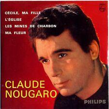 CLAUDE NOUGARO - Cécile,ma fille - CD 4 TITRES