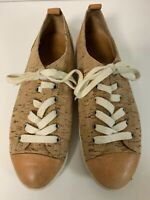 Kork Ease Size 7M  Sneakers Beige Cork Leather