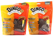 2 Dingo Premium Real Beefy Strips Recipe Treat For All Dogs 12.5 Oz.