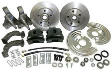 1962 - 74 MOPAR  PLYMOUTH  DODGE FRONT DISC BRAKE CONVERSION - BLACK CALIPER