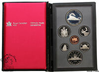 Canada 1986 Vancouver Double Dollar Proof Coin Set