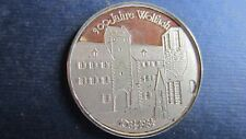 Medaille Silber 900 Jahre Wolfach 1984, ca. 30 mm in PP   (M49)