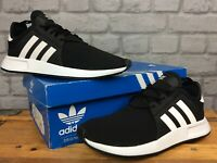 ADIDAS UK 6 EU 39 1/3  X_PLR BLACK WHITE TRAINERS CHILDRENS LADIES           EP