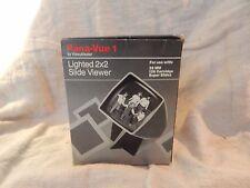 Vintage Pana-Vue 1 Illuminated Slide Viewer 2x2 with Box