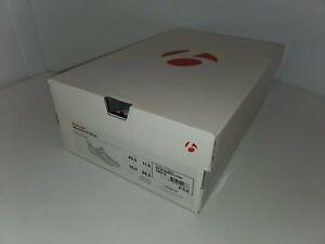 NEW Bontrager Woomera Carbon Tri Shoe EU 45.5 Men's 12.5 MSRP $180 white red