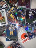 Football Mystery 2 Hit Pack! SERIES 3- 2 HITS - 5 ROOKIES - 10 BASE - READ FIRST