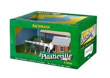 Bachmann Plasticville O Loading Platform & Crossing Shanty Built Up 1/48 Scale