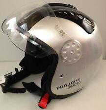 3 cascos jet pj Double visor 3 trozo con errores