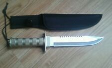 """FREE ENGRAVING (PERSONALIZED) 8"""" Survival / Hunting Knife w/ Sheath"""