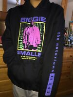 Men's Notorious BIG Biggie Smalls Brooklyn NYC Hip Hop Rap Music Hoodie Small