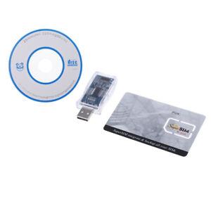 USB-16-in-1-SIM-Kartenleser Kopierer Cloner Backup CD SIM-Karte