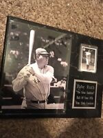 "Large Babe Ruth Hall Of Fame 1936 Plaque 15"" x 11.5"""