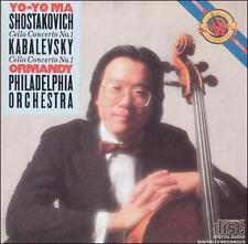 Shostakovich/Kabalevsky: Cello Concerto No. 1