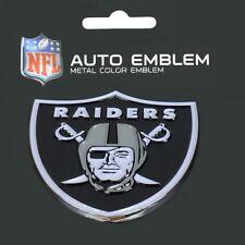 Las Vegas Raiders Heavy Duty Metal 3-D Color Auto Emblem