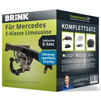 Anhängerkupplung BRINK schwenkbar für MERCEDES E-Klasse Limousine +E-Satz PKW