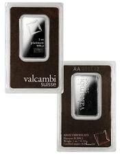 Valcambi Suisse 1 Oz .9995 Platinum Bar - Sealed w/ Assay Cert. SKU28602