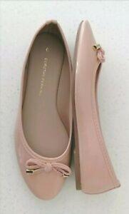 Brand New Dorothy Perkins Fabulous Ladies Blush Pink Patent Pumps UK Size 6/EU39