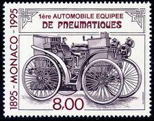 STAMP / TIMBRE DE MONACO N° 1999 ** / 1° AUTOMOBILE EQUIPEE DE PNEUMATIQUES