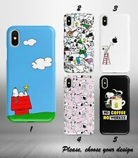 Snoopy Peanuts case for iphone 11 12 pro max XR X XS SE 2020 8 7 plus 6 5 + SN