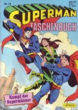 Superman Taschenbuch Nr. 78/1987 Kampf der Supermänner