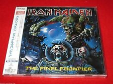 IRON MAIDEN - The Final Frontier - JAPAN CD - WPCR-80032