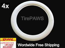 "Atlas 14"" Wheel Add On tyre Trim Whitewall Portawall Set of 4 Mercedes W114 W115"