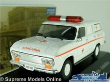CHEVROLET VERANEIO AMBULANCE MODEL CAR 1:43 SCALE IXO GMC SUBURBAN BRAZIL K8