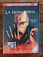 La nona porta - Regista Roman Polanski con Johnny Depp Film Thriller Horror DVD