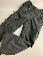 SMARTY 686 Gray insulated Snow Board Ski Pants Men's M