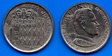 Monaco 1 Franc 1974 Rainier Prince Free Ship World Frcs Frc Paypal Skrill OK