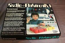 Vintage Kosmos Radio+Elektronik 1, Experimentierkasten 1973, unbenutzt NEU