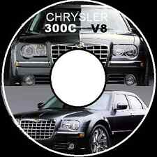 CHRYSLER 300C  V6 V8 HEMI SRT WORKSHOP REPAIR MANUAL CD + Parts & Body Manuals