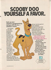 Scooby Doo 1983 Ad- number one children's show/ARB