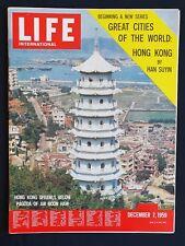 Life * International * December 7, 1959 * THE MOON, GREAT CITY: HONG KONG