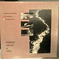 "McLAUGHLIN / DIMIOLA / De LUCIA - Passion Grace & Fire- 12"" Vinyl Record LP - EX"
