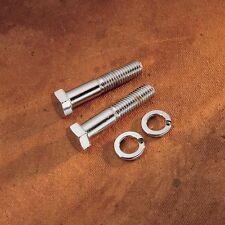 Cromo Alzamanubrio Bulloni per Harley-Davidson - 1.3cm UNF x 3 pollici lungo