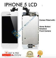 IPHONE 5 Blanco Ensamblado IC OEM Calidad LCD Pantalla Digitalizador Recambio GB