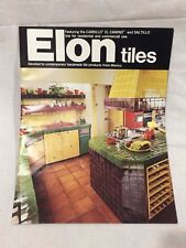 1984 Elon Tiles Catalog~Home Restoration Reference Guide, Color Brochure Vtg
