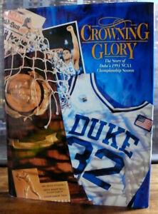 Duke University Blue Devils 1991 NCAA Basketball Champion Crowning Glory Book