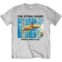 Official T Shirt STONE ROSES Fools Gold Black Unisex Mens New Size S M L XL XXL