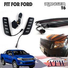 Fit For Ford Ranger T6 Px Xlt Wildtrak 2012+ Led Daytime Running Light Set