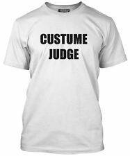 Costume Judge Fancy Dress Halloween Party Men's T-Shirt