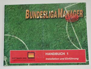 Bundesliga Manager Hattrick - HANDBUCH 1 - Nur das gedruckte Original-Handbuch