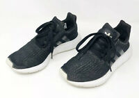Women's Adidas Originals Swift Run Core Black  Running Sneakers Tennis Shoes 7
