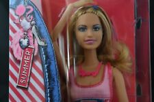 2011 Barbie Fashionista Summer Articulated Doll NRFB in Sporty Look