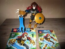 Lego 70200 Legends of Chima Chi Laval complet + Notice sachet 2013